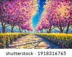 Cherry Sacura Blossom Alley...