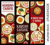 korean cuisine vector marinated ... | Shutterstock .eps vector #1918334228