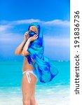 angel in paradise | Shutterstock . vector #191836736
