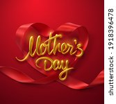 mothers day. vector holiday...   Shutterstock .eps vector #1918396478