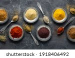 Assortment Of Natural Spices On ...