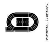 running track field icon....   Shutterstock .eps vector #1918458542