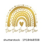 creative abstract golden... | Shutterstock .eps vector #1918468508