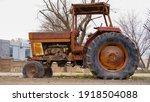 Rust Old Truck Forgotten On...