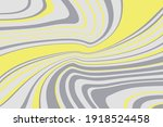 simple design with curved wavy... | Shutterstock .eps vector #1918524458