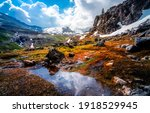 Mountain Valley Water Landscape....
