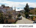 Kalkan Village Streets With Top ...