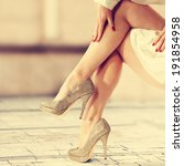 photo of legs  | Shutterstock . vector #191854958