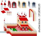 set of bricks for design | Shutterstock . vector #191858135
