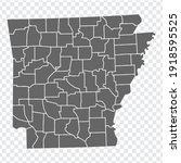 state arkansas map on...