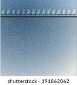 jean fabric pattern | Shutterstock .eps vector #191862062