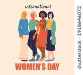 international women's day...   Shutterstock .eps vector #1918646072