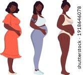 set of different african...   Shutterstock .eps vector #1918646078