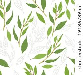 seamless pattern with colored...   Shutterstock .eps vector #1918678955