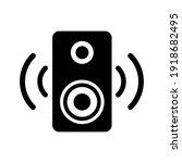speaker symbol icon vector...   Shutterstock .eps vector #1918682495