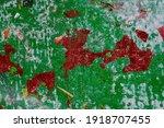 texture splattered with green... | Shutterstock . vector #1918707455