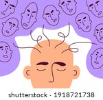 social pressure  manipulation ... | Shutterstock .eps vector #1918721738