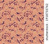 floral vector illustration in... | Shutterstock .eps vector #1918733762