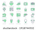 electronic appliance simple... | Shutterstock .eps vector #1918744532