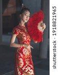 Beautiful Asian Woman  Model  ...