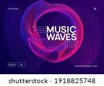 music fest. dynamic fluid shape ...   Shutterstock .eps vector #1918825748