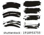 round sponge thin artist brush... | Shutterstock .eps vector #1918953755