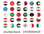 30 middle east and north africa ... | Shutterstock .eps vector #1919040425