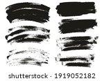 round sponge thin artist brush... | Shutterstock .eps vector #1919052182