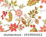seamless pattern with stylized... | Shutterstock .eps vector #1919054312