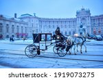 Horse Drawn Carriage In Vienna...