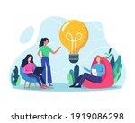 business idea concept... | Shutterstock .eps vector #1919086298