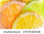 Slices Of Lemon  Orange And...