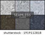 seamless topographic maps set... | Shutterstock .eps vector #1919112818