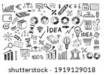management concept with doodle... | Shutterstock .eps vector #1919129018