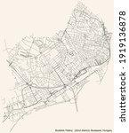 black simple detailed street...   Shutterstock .eps vector #1919136878