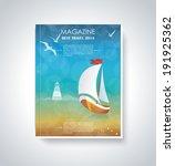 your best travel magazine....   Shutterstock .eps vector #191925362