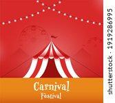 carnival festival celebration... | Shutterstock .eps vector #1919286995