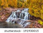 Upper  Gooseberry Falls Along Minnesota