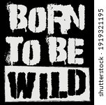 retro punk born to be wild... | Shutterstock .eps vector #1919321195