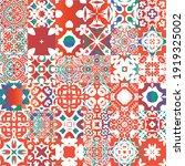 ethnic ceramic tiles in mexican ...   Shutterstock .eps vector #1919325002