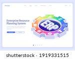 erp  enterprise resource...   Shutterstock .eps vector #1919331515