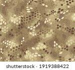 hexagonal camouflage seamless... | Shutterstock .eps vector #1919388422