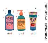 illustration of cosmetics for... | Shutterstock .eps vector #1919393888