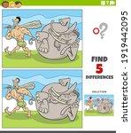 cartoon illustration of finding ... | Shutterstock .eps vector #1919442095