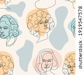 modern abstract faces. modern... | Shutterstock .eps vector #1919547578