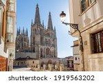 Main Facade Of The Gothic...
