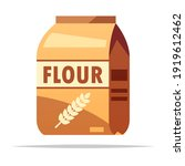 bag of flour vector isolated... | Shutterstock .eps vector #1919612462