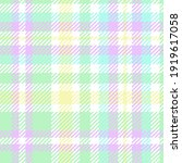 pastel easter plaid. seamless...   Shutterstock .eps vector #1919617058