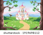 Fairy Tale Background With...