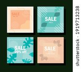 set sale new collection for...   Shutterstock .eps vector #1919713238
